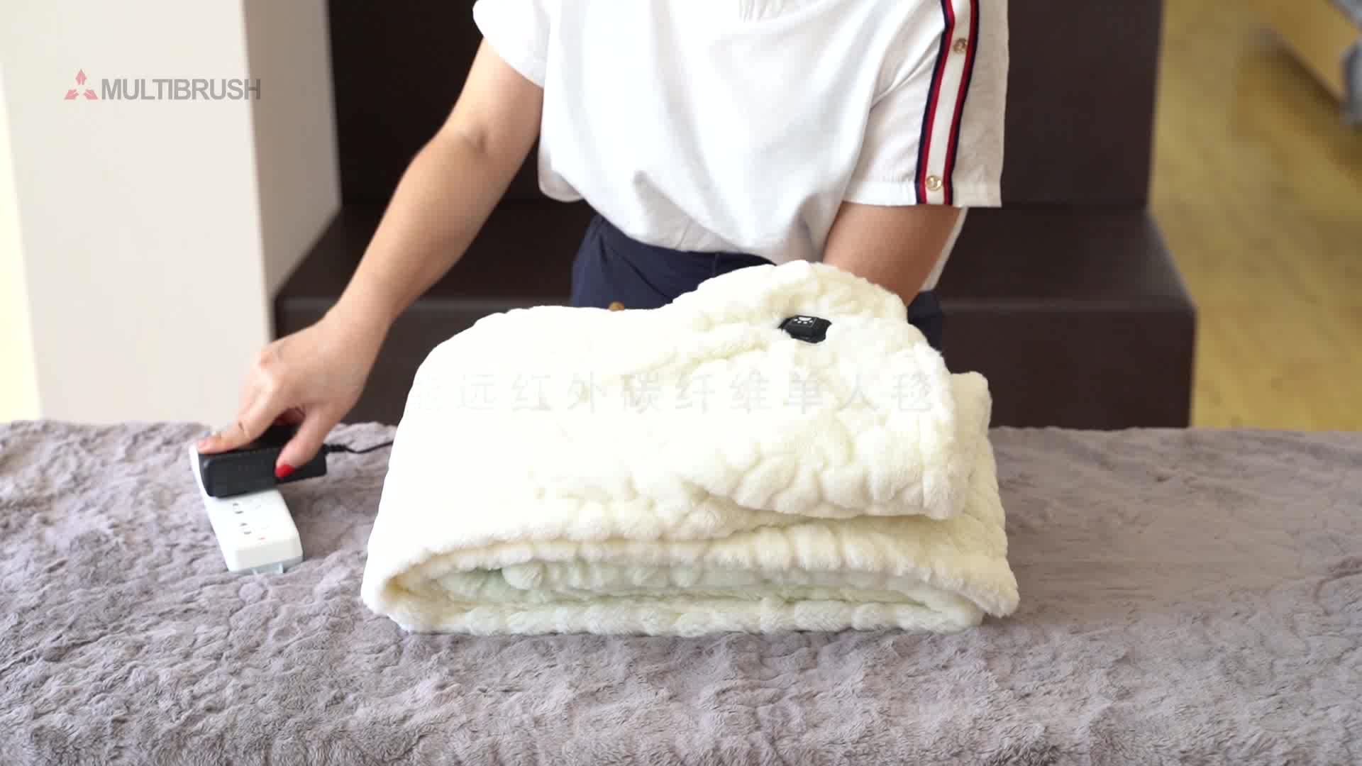 Imperméable à l'eau couverture chauffante électrique couverture chauffante couverture chauffante