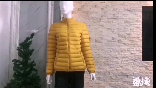 Goose Feather Impact Winter Ultra Light Autumn Duck Down Jacket For Women