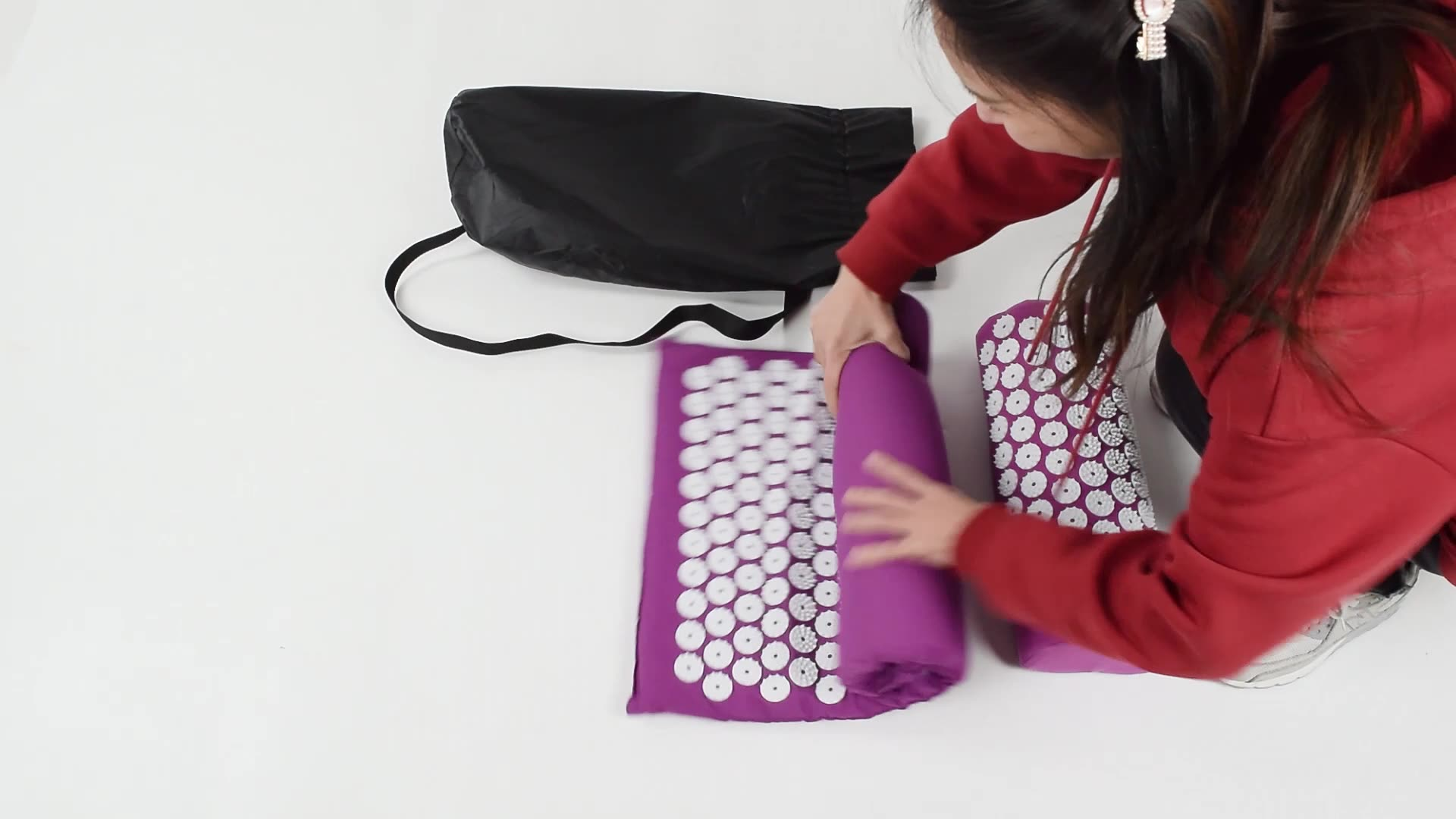 Relax plastik yoga başak mat shakti akupressur matı
