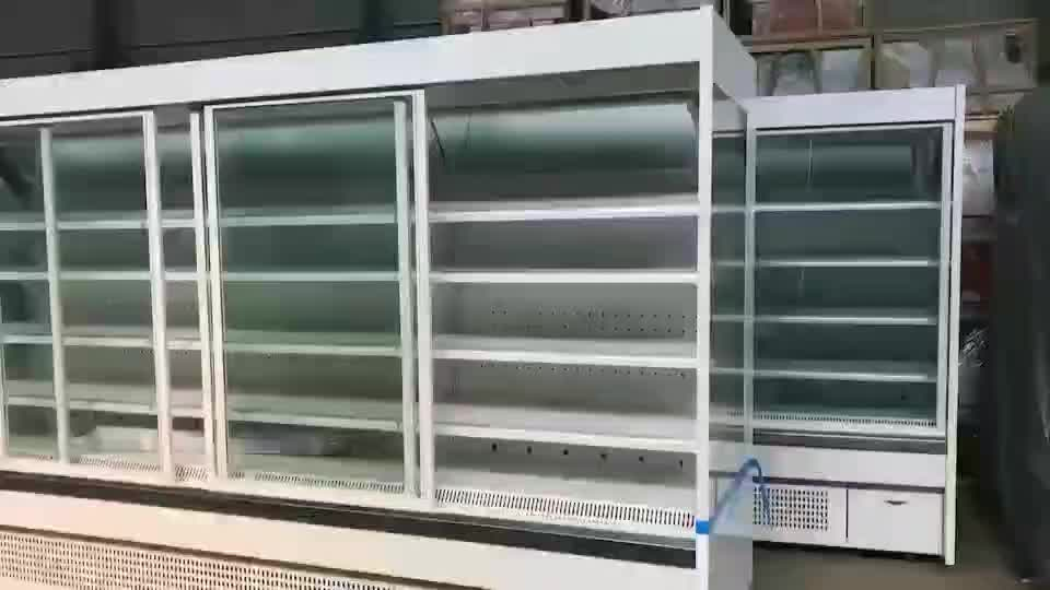 soft drink display refrigerator  fruit and vegetable refrigerator commercial vegetable refrigerator
