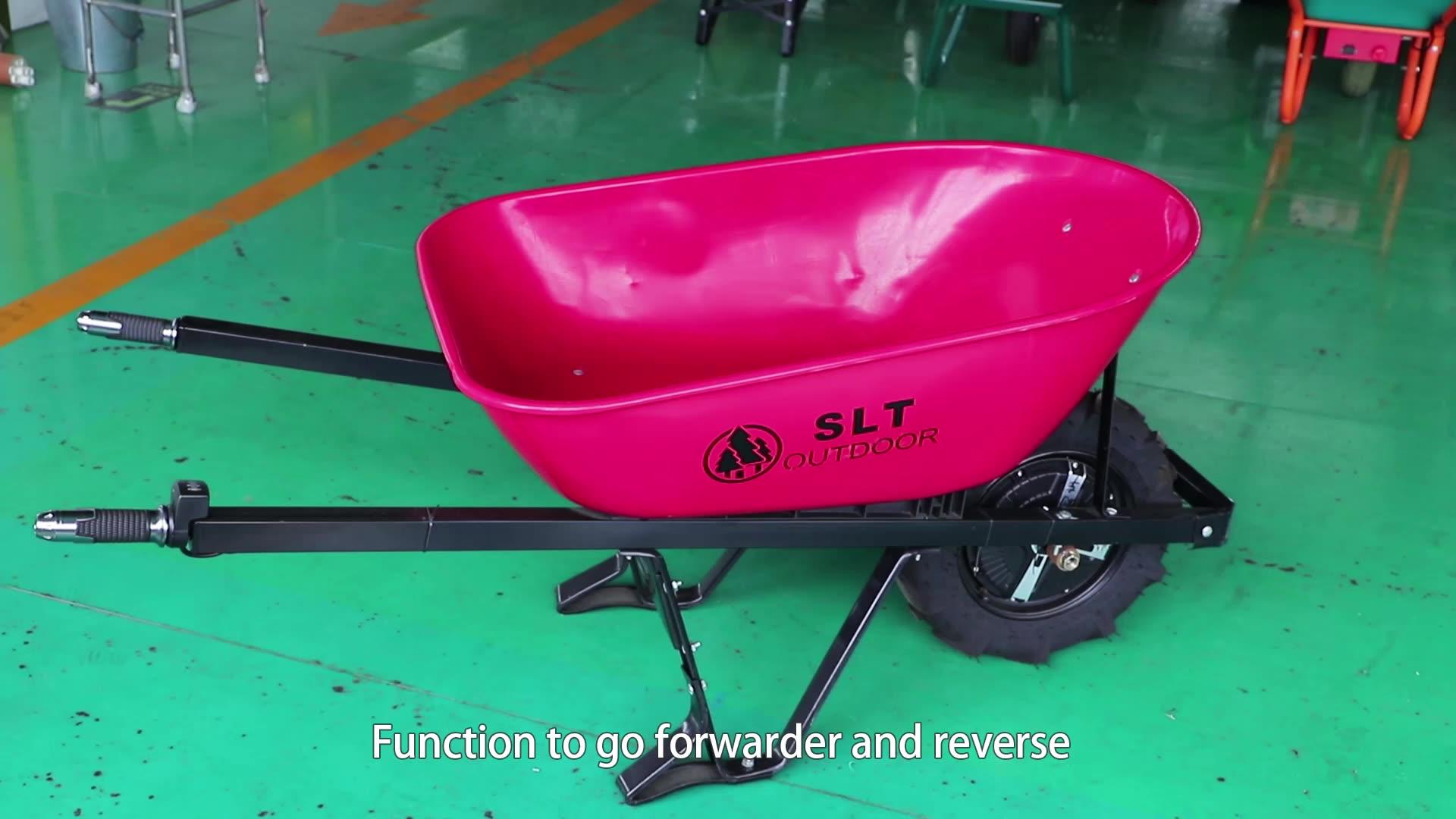 EWB700 carrinho de mão elétrico 500W do motor rodas carros jardim CE/SGS/SAMTA/BSCI/ china fábrica