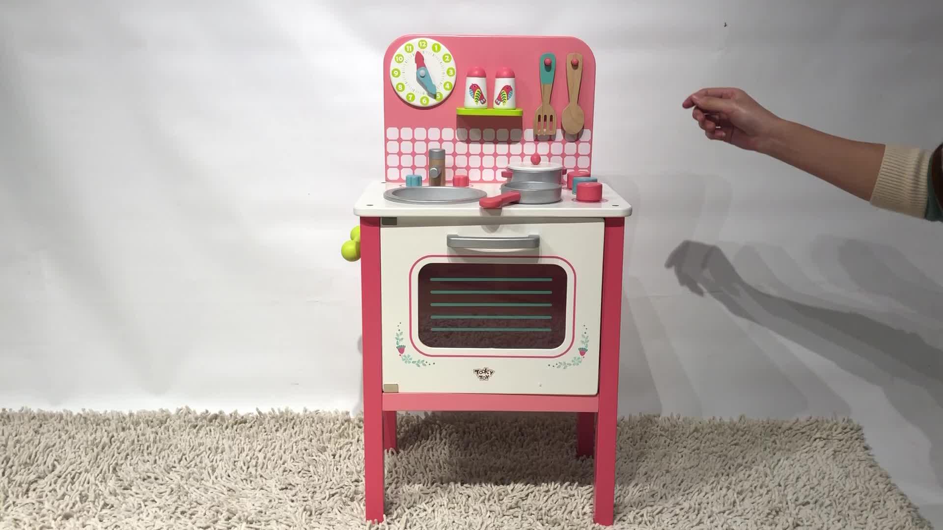 New Design Cooking Toy Children Kids Wooden Play Sets Kitchen Toy