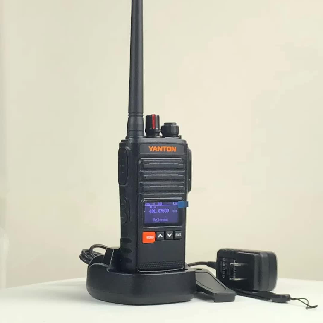 Bluetooth cep telefonları kablosuz 5 km menzilli VHF UHF YANTON T-380 walkie talkie