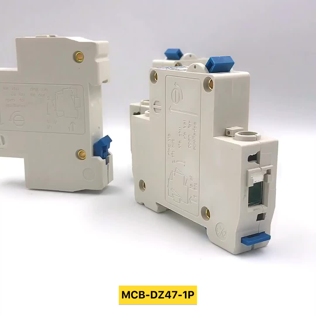 Yueqing supply single phase mcb 20 amp miniature circuit breaker mcb new type