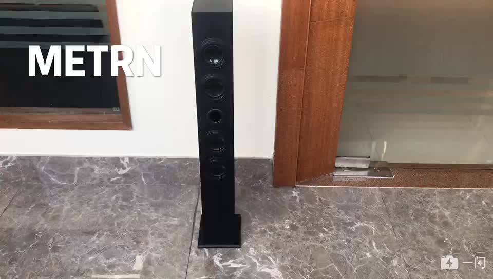 Professional 2.0 wooden dj tower speakers for home theater