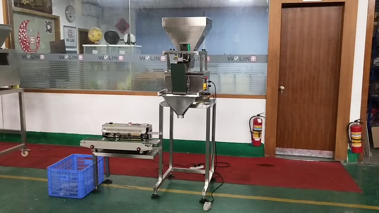 Mini weigh fill seal Packing system