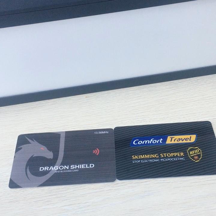 2019 In Modo Sicuro rfid blocco carta di trasporto rfid passaporto della copertura protecter RFID NFC-13.56 Mhz furto di dati