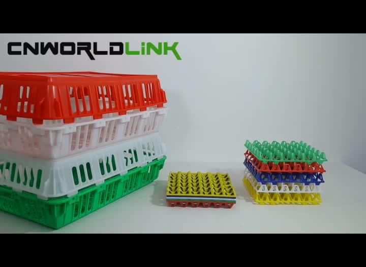 Trinh HDPE Xếp Lớp và Nestable Nhựa Egg Crate
