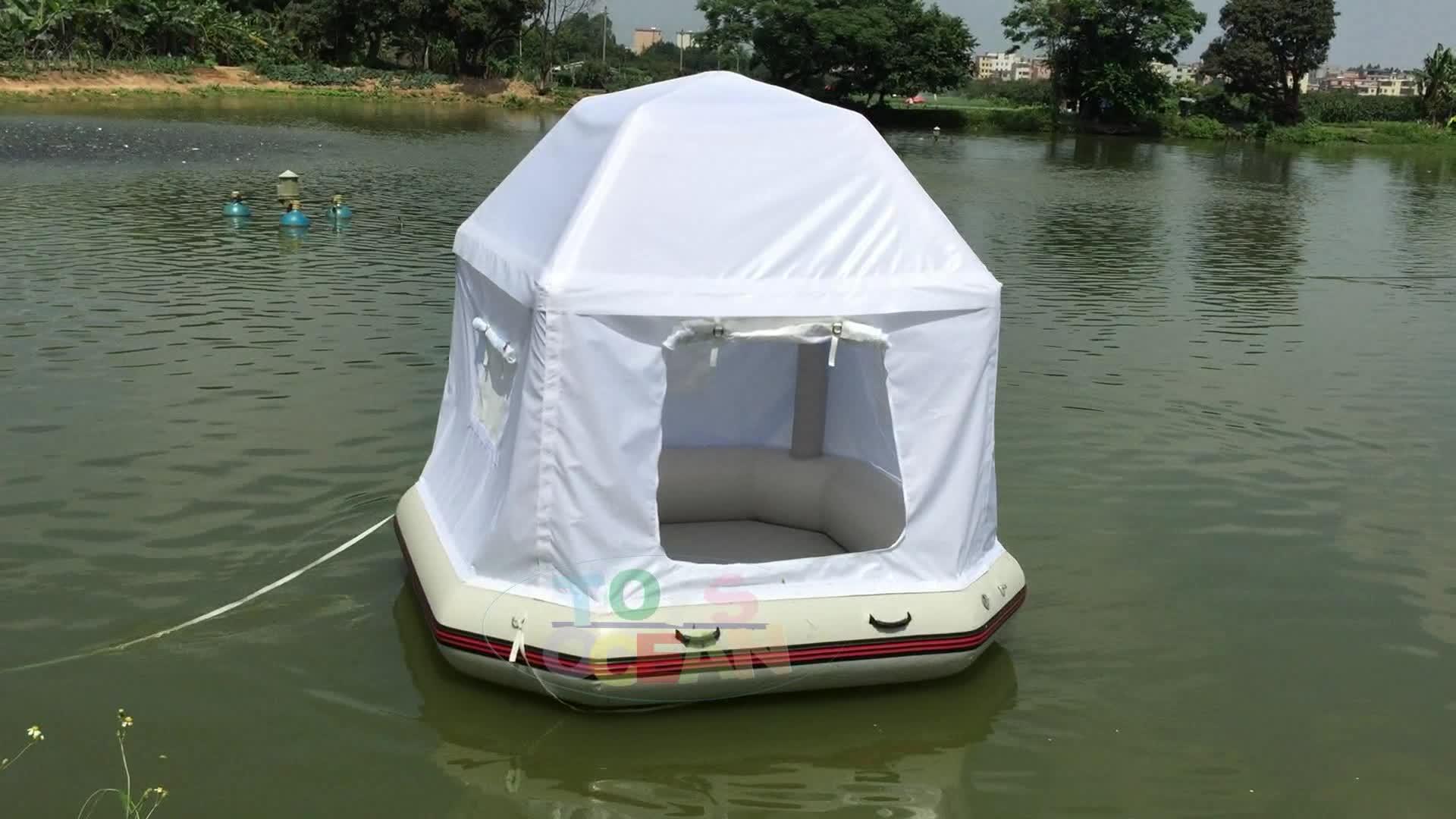 Drijvende Camping Opblaasbare Ondiepte Tent Te Koop