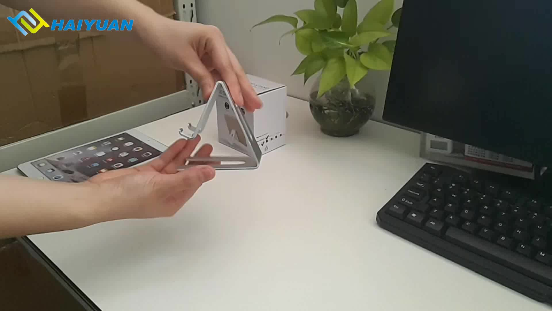 High quality metal aluminum desktop mobile phone stand holder for home