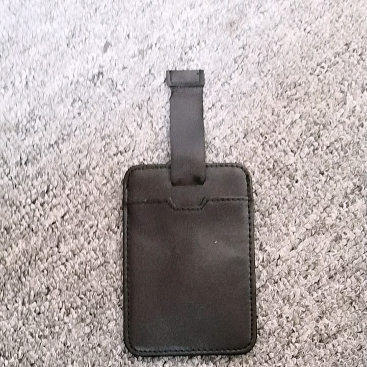 Cow Leather ID Card Holder RFID genuine leather card holder with pull tab black short slim Bank Credit Card pocket