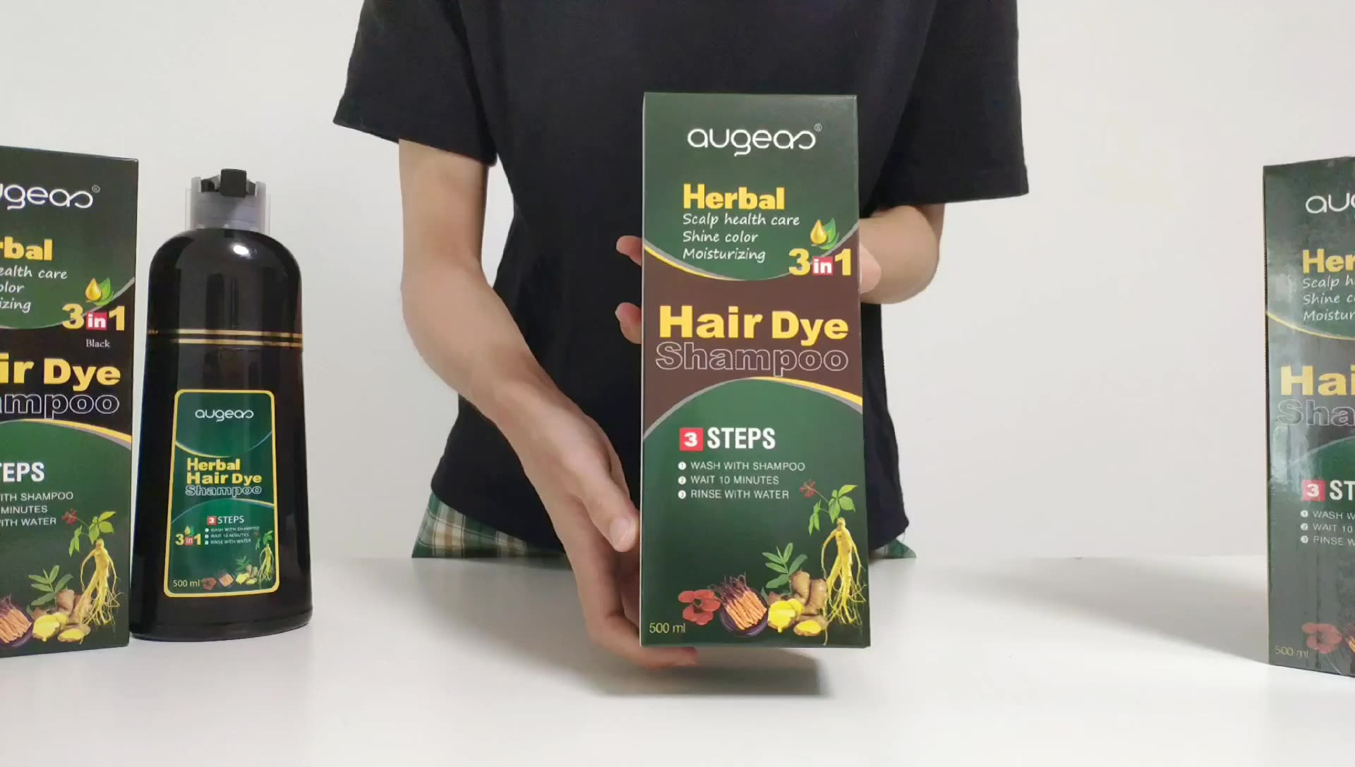 dark brown hair color shampoo