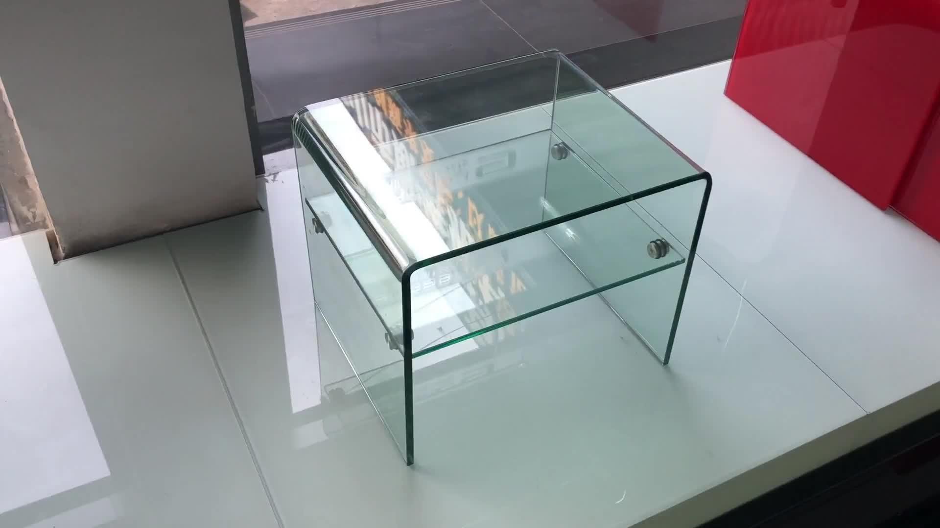 Moderne Glazen Bijzettafel Sofa Theetafel