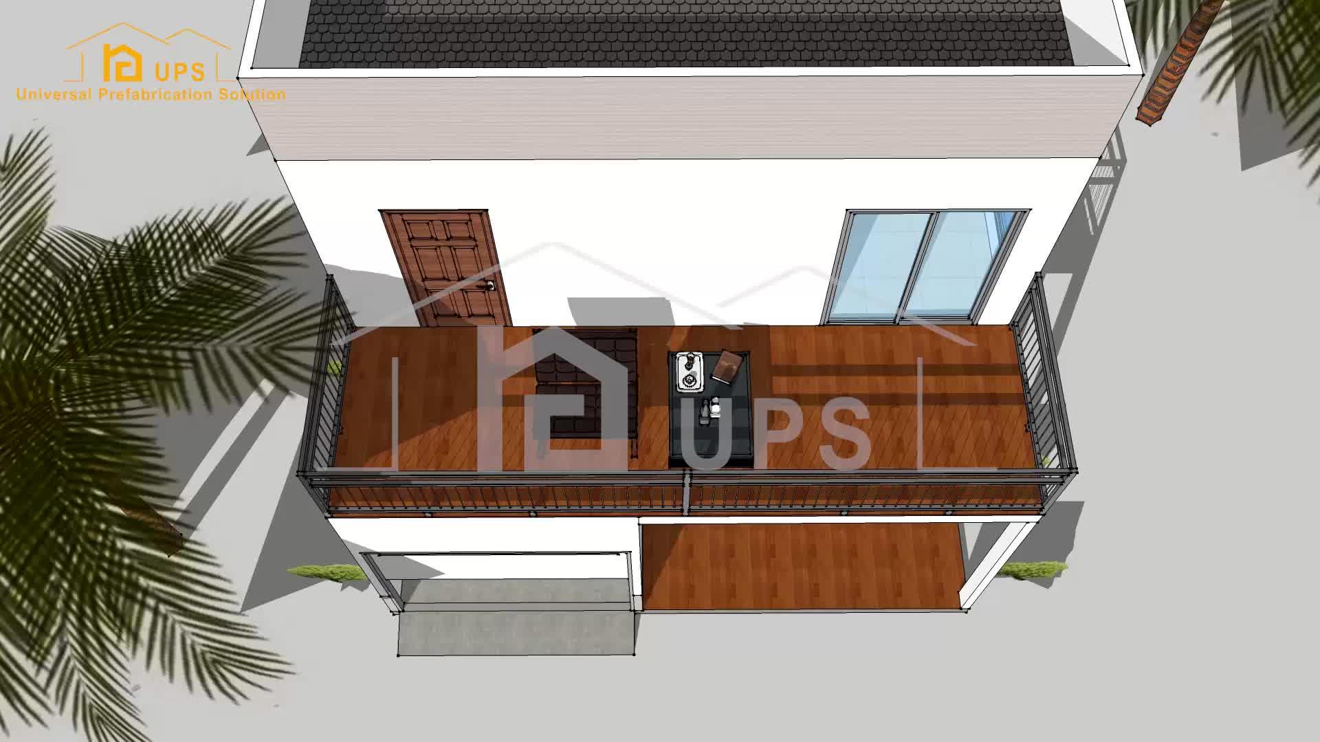 UPS 2020 قبل الهندسة الجديدة رغوة لوحة إسمنتية عازلة بناء مشاريع البناء ليبيا