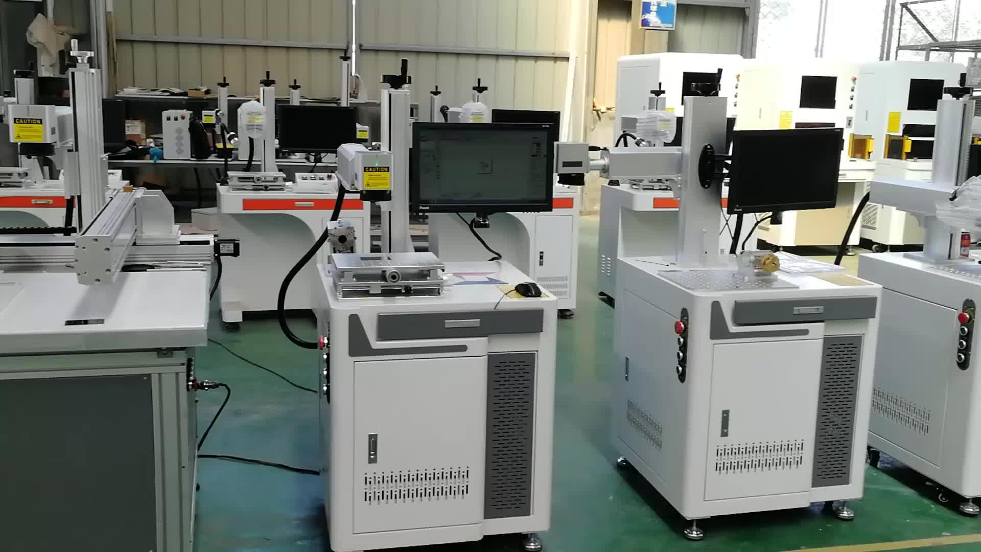 Yiwu rofin máquina de marcado láser de w 30 w 50 w