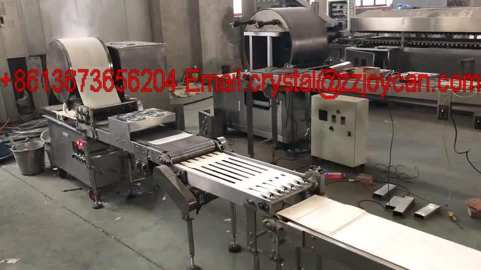 JC-10ฤดูใบไม้ผลิอัตโนมัติเครื่องห่อม้วนเครื่องสำหรับการทำกระดาษข้าว