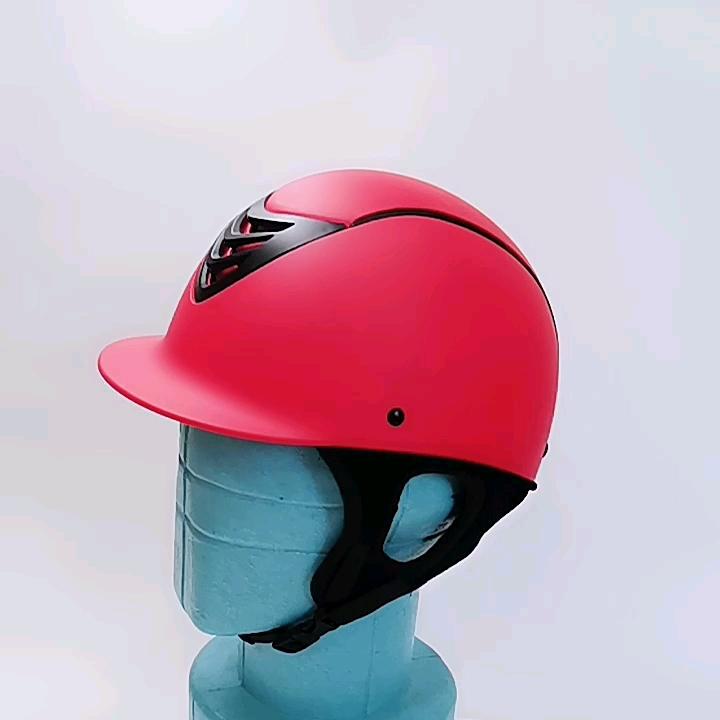 नए उत्पादों कस्टम पहाड़ अश्वारोही घुड़सवारी हेलमेट