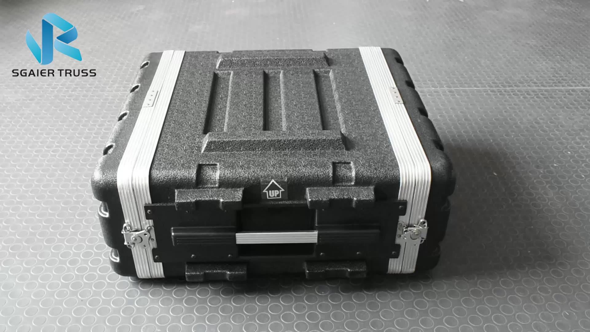 Plastic Storage Carring Tool Box IP67 Hard Plastic Flight Case Waterproof Tool Case with Foam