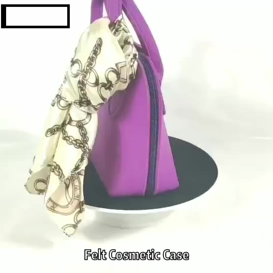 Fashionable Handmade Wool Tote Women's Lady Felt bag