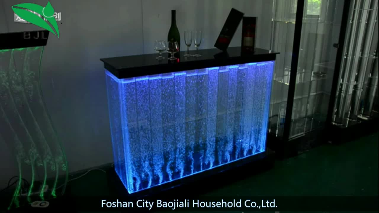 Acrylic Led Light Bar Table Used Nightclub Lighted