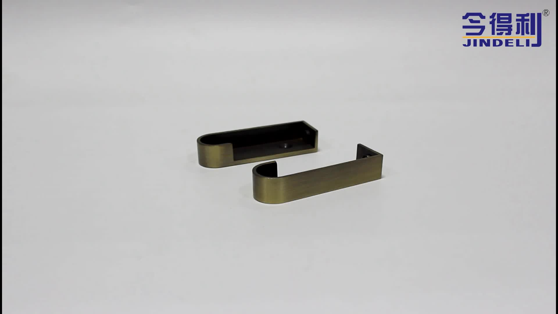 New Furniture Pipe Fittings Wardrobe Tube Connector Channel Support Bracket