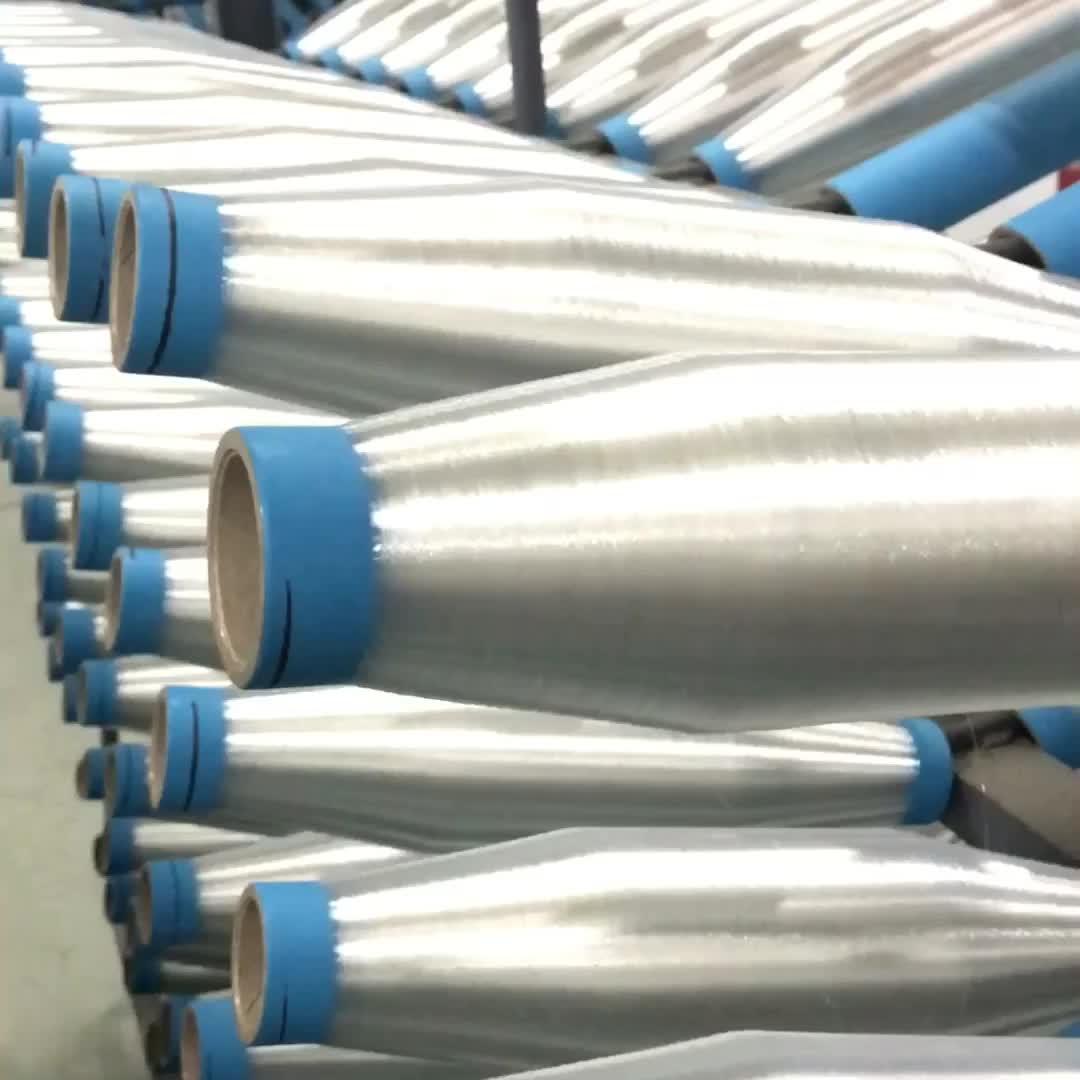 สีดำ 620 dtex PP monofilament สำหรับ geotextile