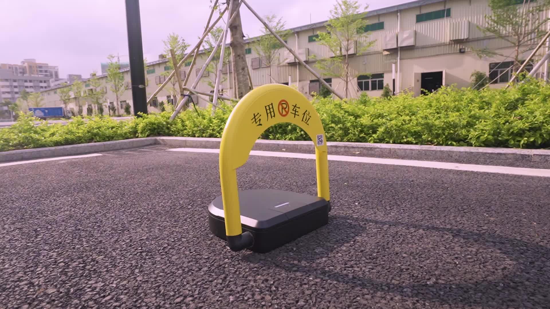 Cerdas Sensor Parkir Mobil Barrier Parkir Lock Sistem Manajemen