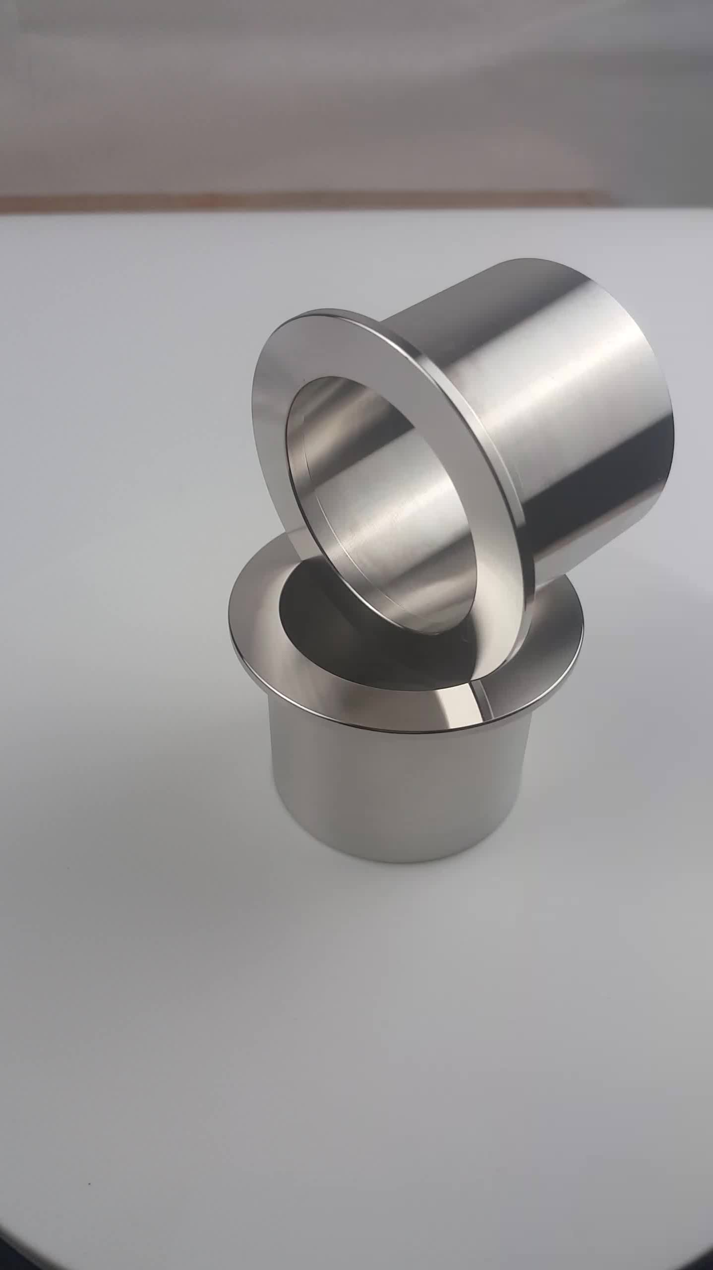 KF50*20 KF50*30 KF50*40 KF50*50 stainless steel 304 vacuum weld fitting Clamp ferrule with half nipple