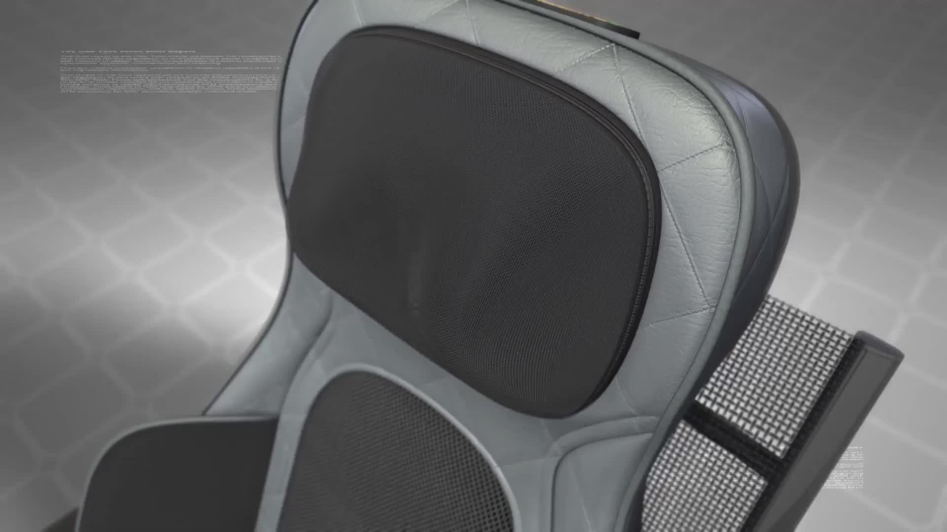 La tutela della salute 4d electro full body relax nuru sedia di massaggio prodotti per i Muscoli