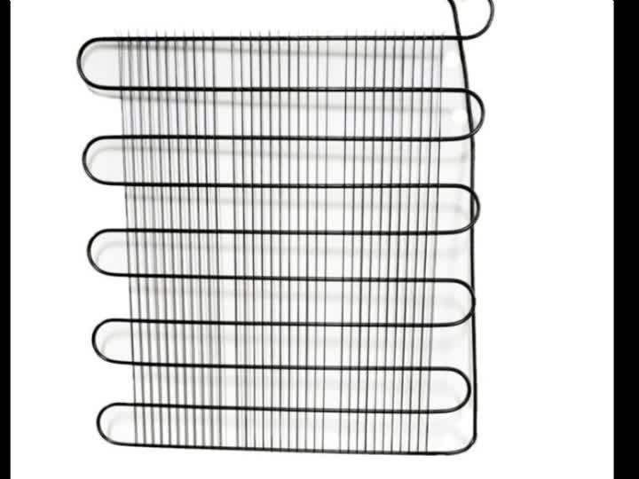 Stainless steel wire tube condenser for refrigerator