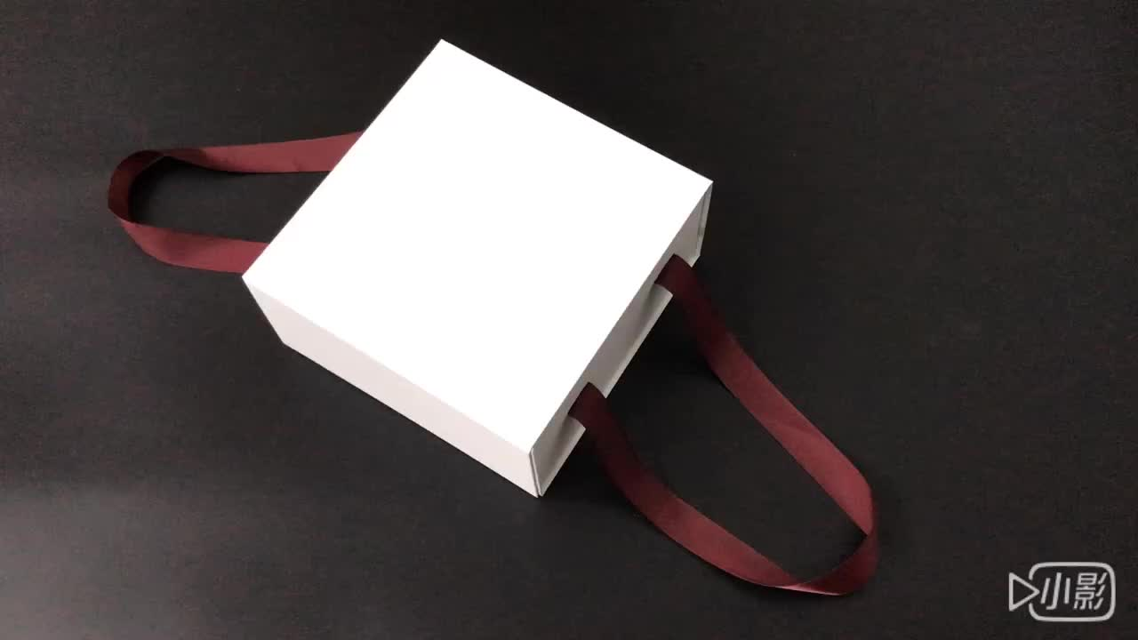 hand-made collapsible storage box packaging for shawl
