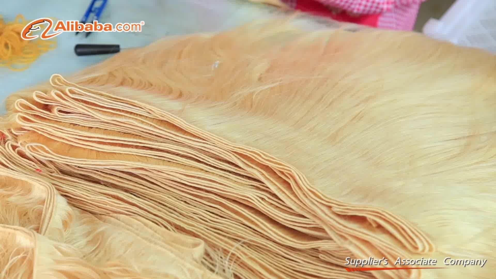 613 Nertsen Onbewerkte Maagd Haar Leveranciers, Menselijk Haar Weave Nertsen Braziliaanse Haar, 10A Haar Bundels Human Hair Extension