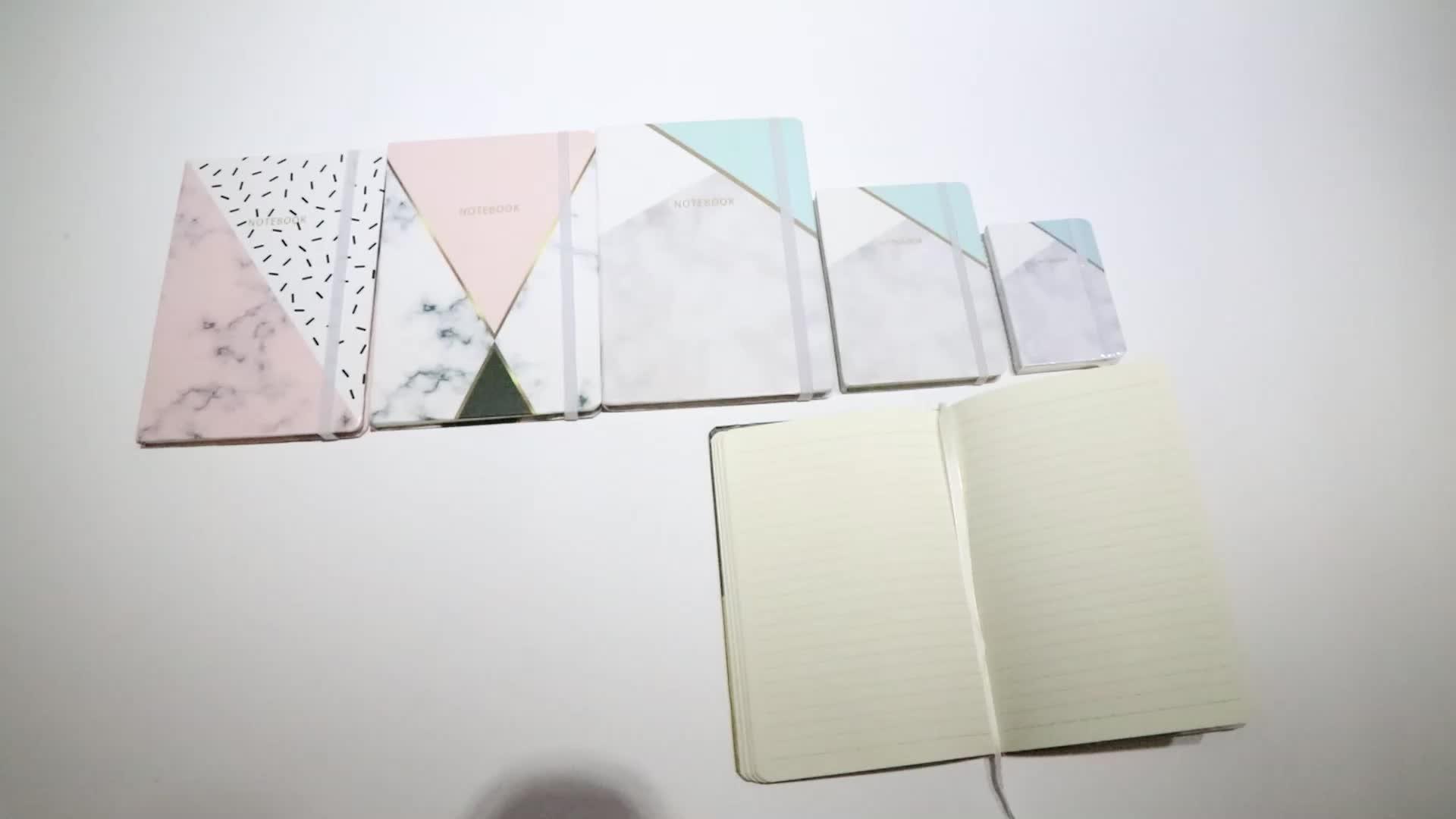 Fabbrica direttamente che vende personalizzato notebook produttore marmo notebook