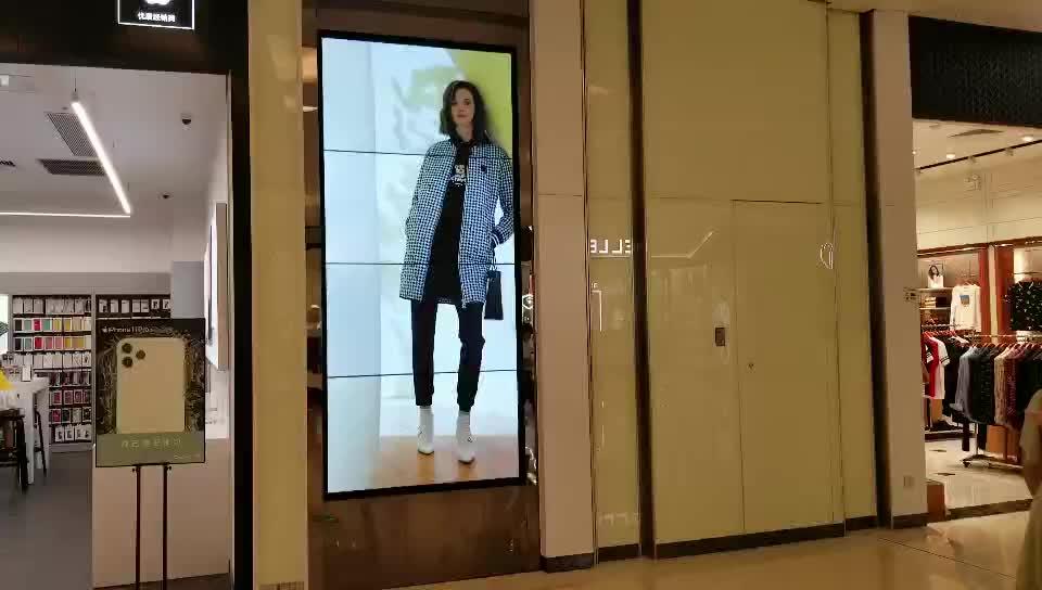 संकीर्ण bezel 3x2 55 इंच पारदर्शी डीजे duhua diy मल्टी स्क्रीन सैमसंग वीडियो दीवार