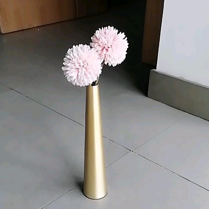 Decorative Glass Metal Transparent Glass Tube Minimalist Test Tube Vases