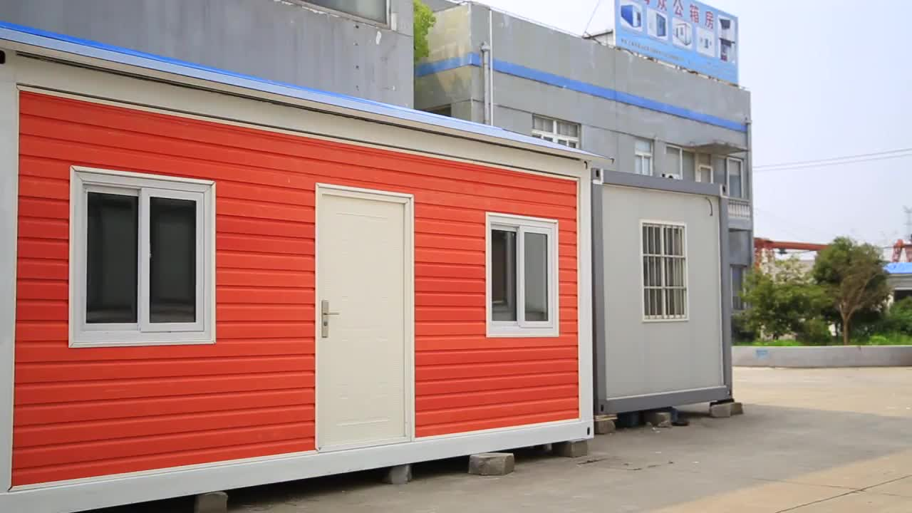 FAI DA TE contenitore di trasporto libero casa, prefabbricati mobile 20FT contenitore case prefabbricate