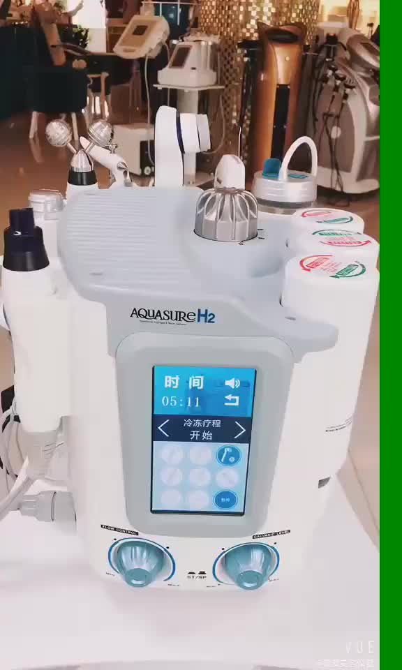 Multifunction H2 O2 Face Cleanser Water Dermabrasion Oxygen Facial Machine
