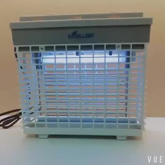 Household ABS bug zapper with micro-switch and 2500V high tension