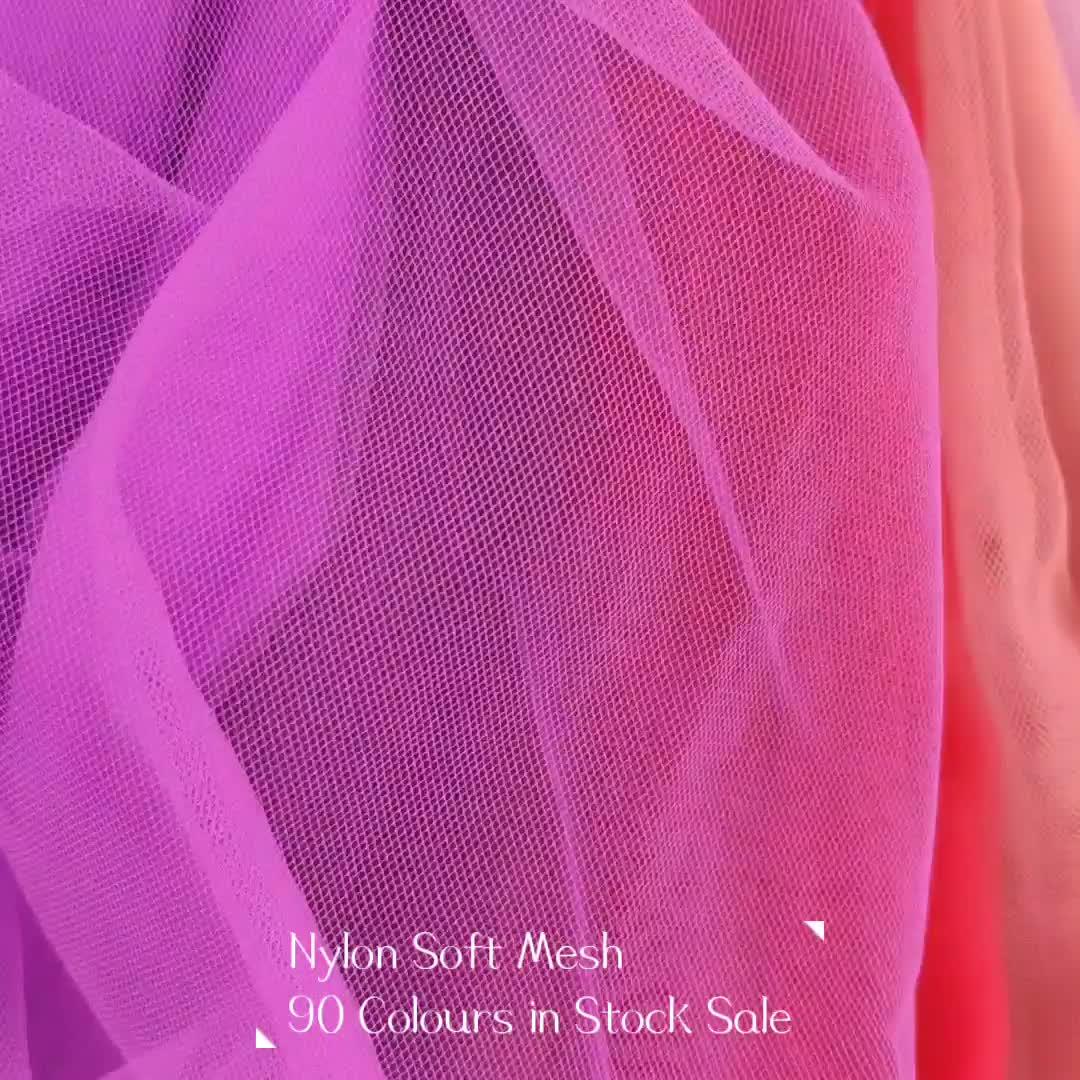 Brautkleid tulle rolle mesh stoff 100 nylon