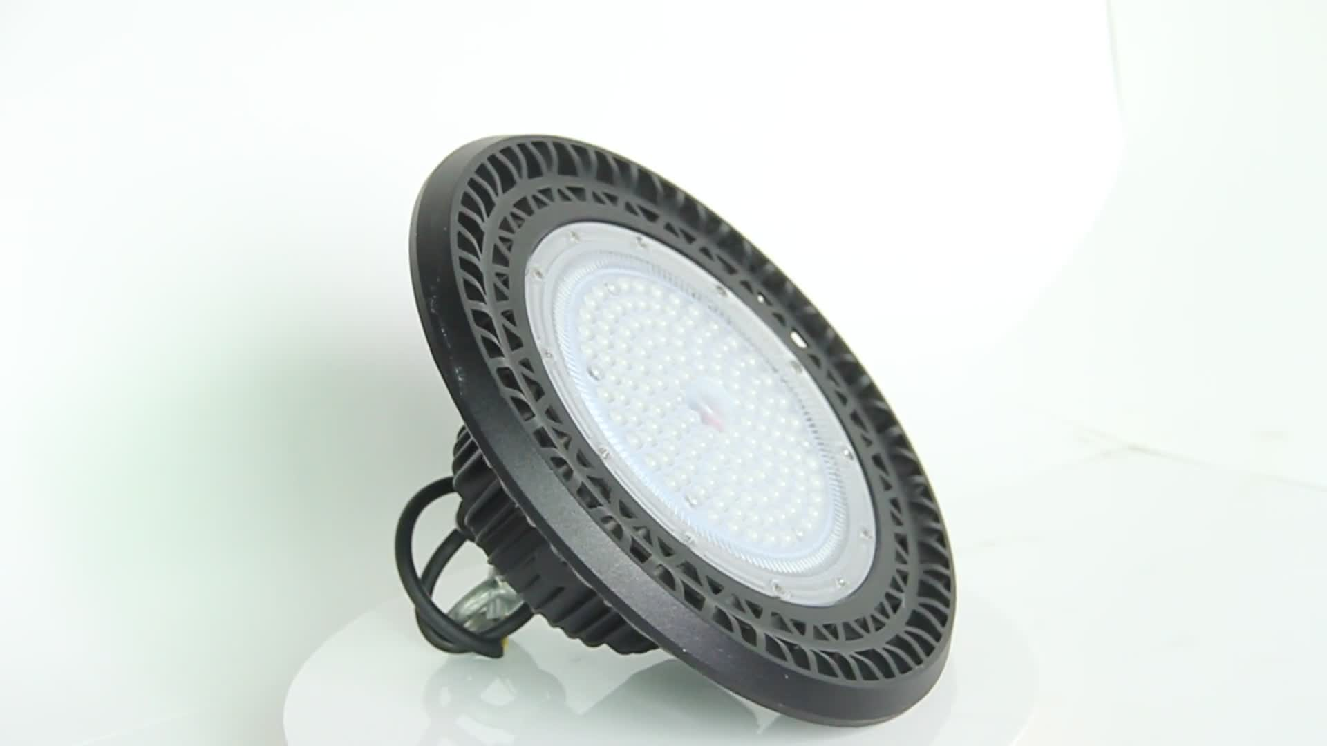 100w 150w 200w UFO LED high bay light