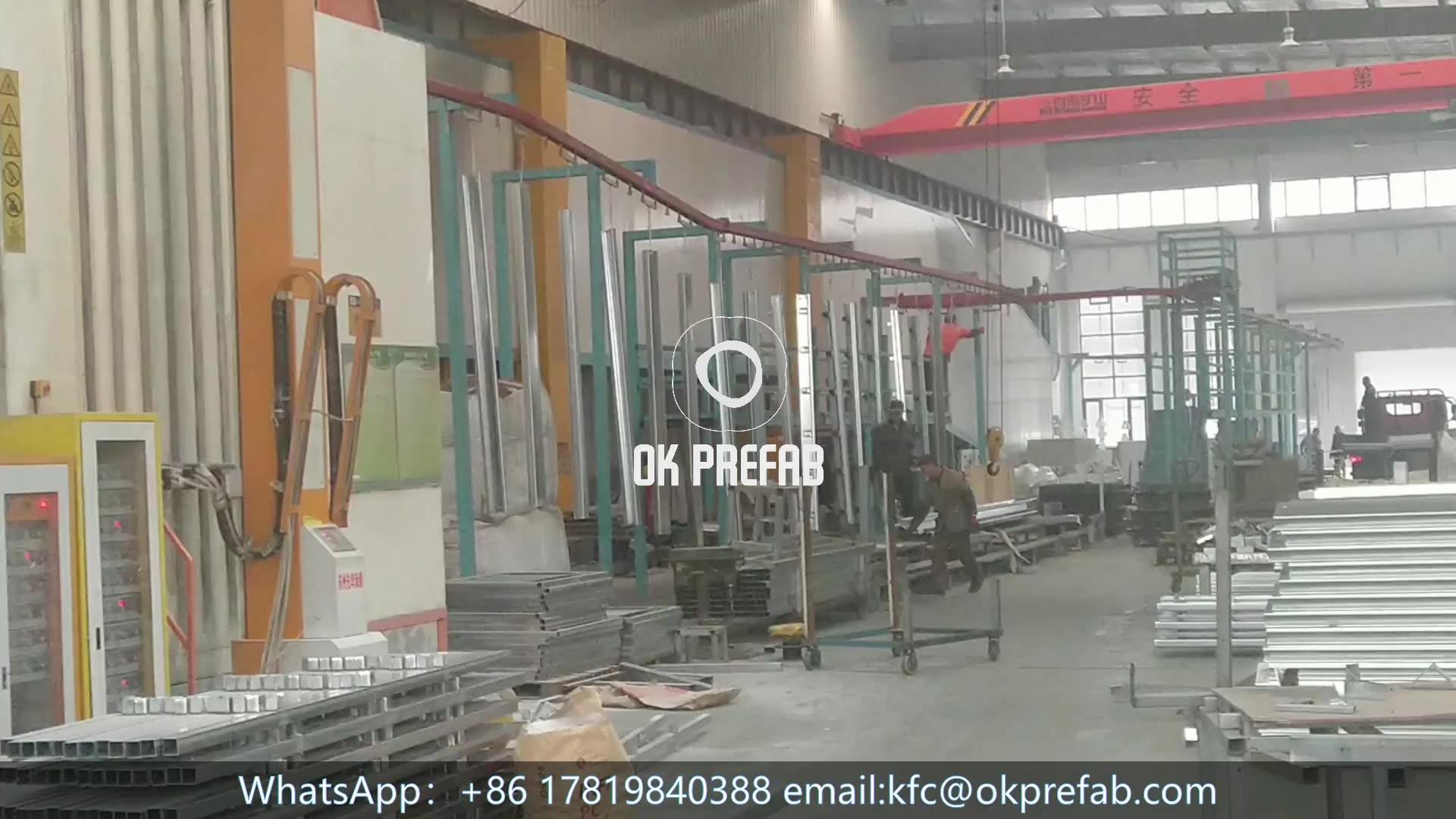 20ft prefabrik konteyner evler olarak kullanılan konteyner ofis ve konteyner konaklama veya taşınabilir kabin