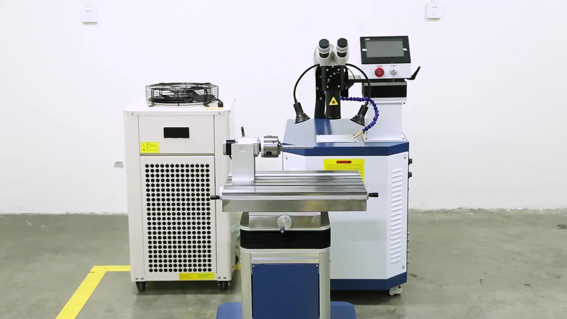 Electronic And Hardware Industry Hard Metal High Frequency Laser Welding Machine