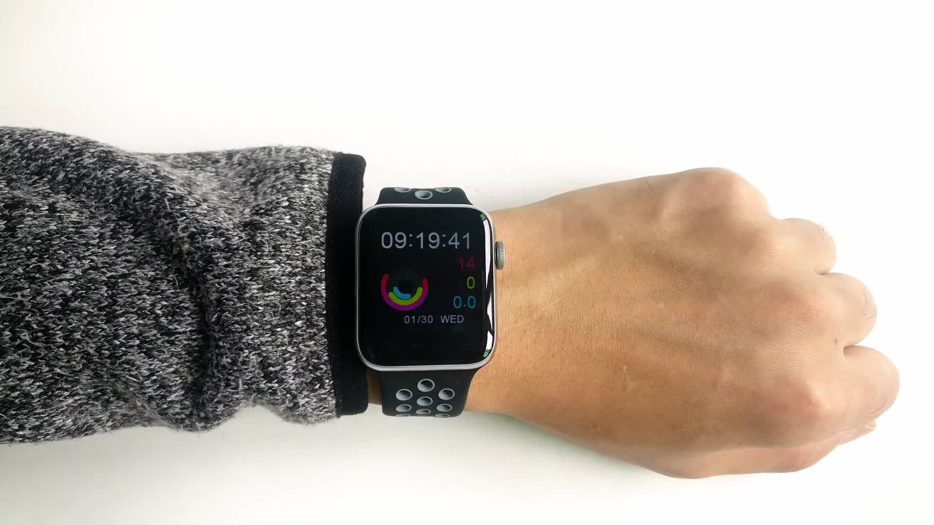 COLMI M33 full touch screen heart rate blood pressure smart watch for iphone