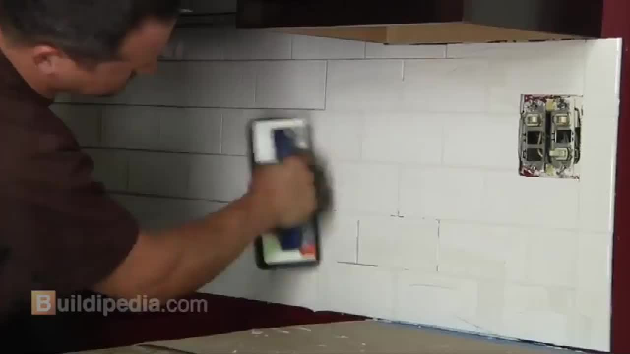 Tile Grout Sponge for Grout Cleaning Foam by vacuum package