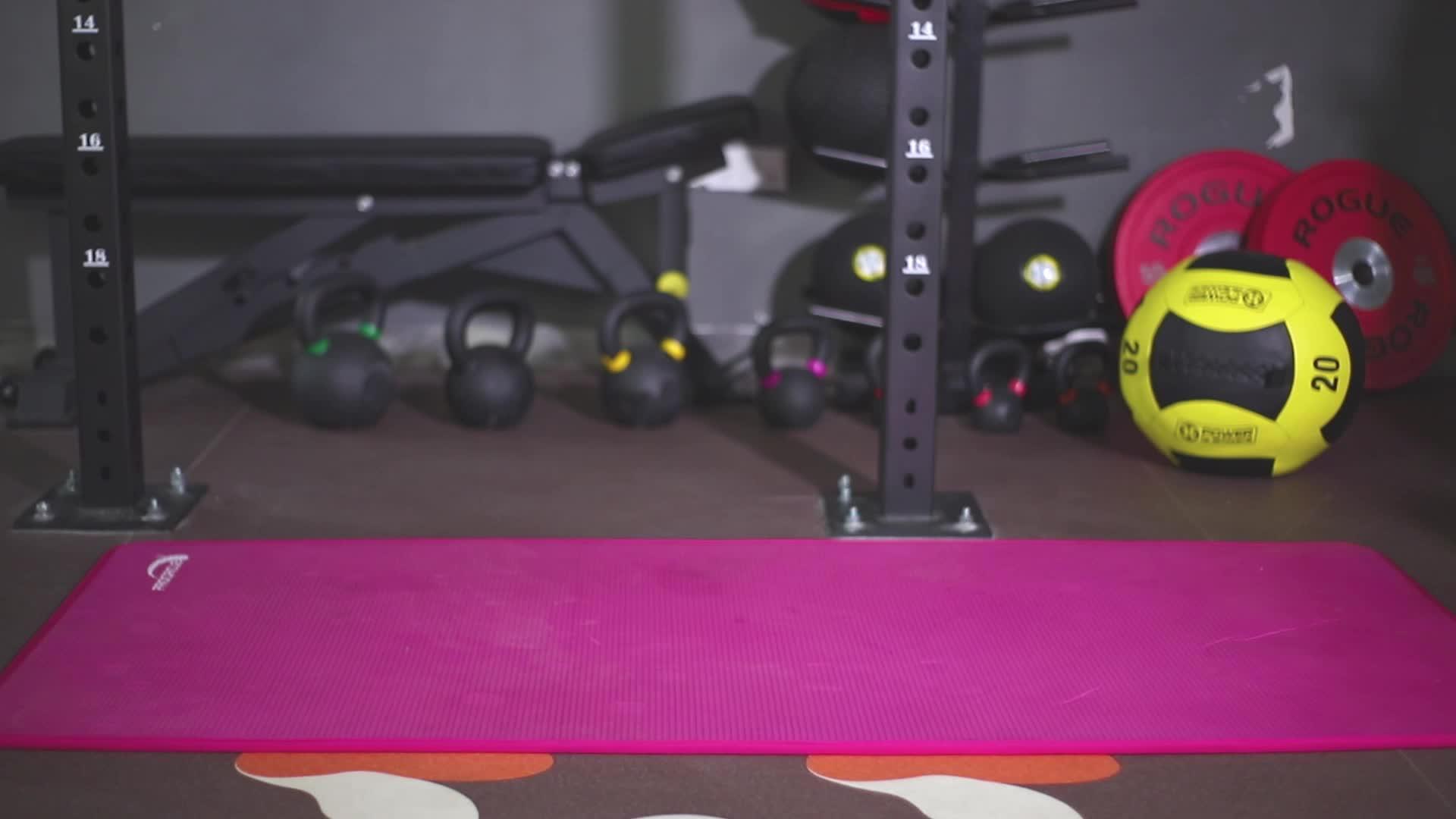 Custom Logo Antislip Silicon Dot Yoga Towel
