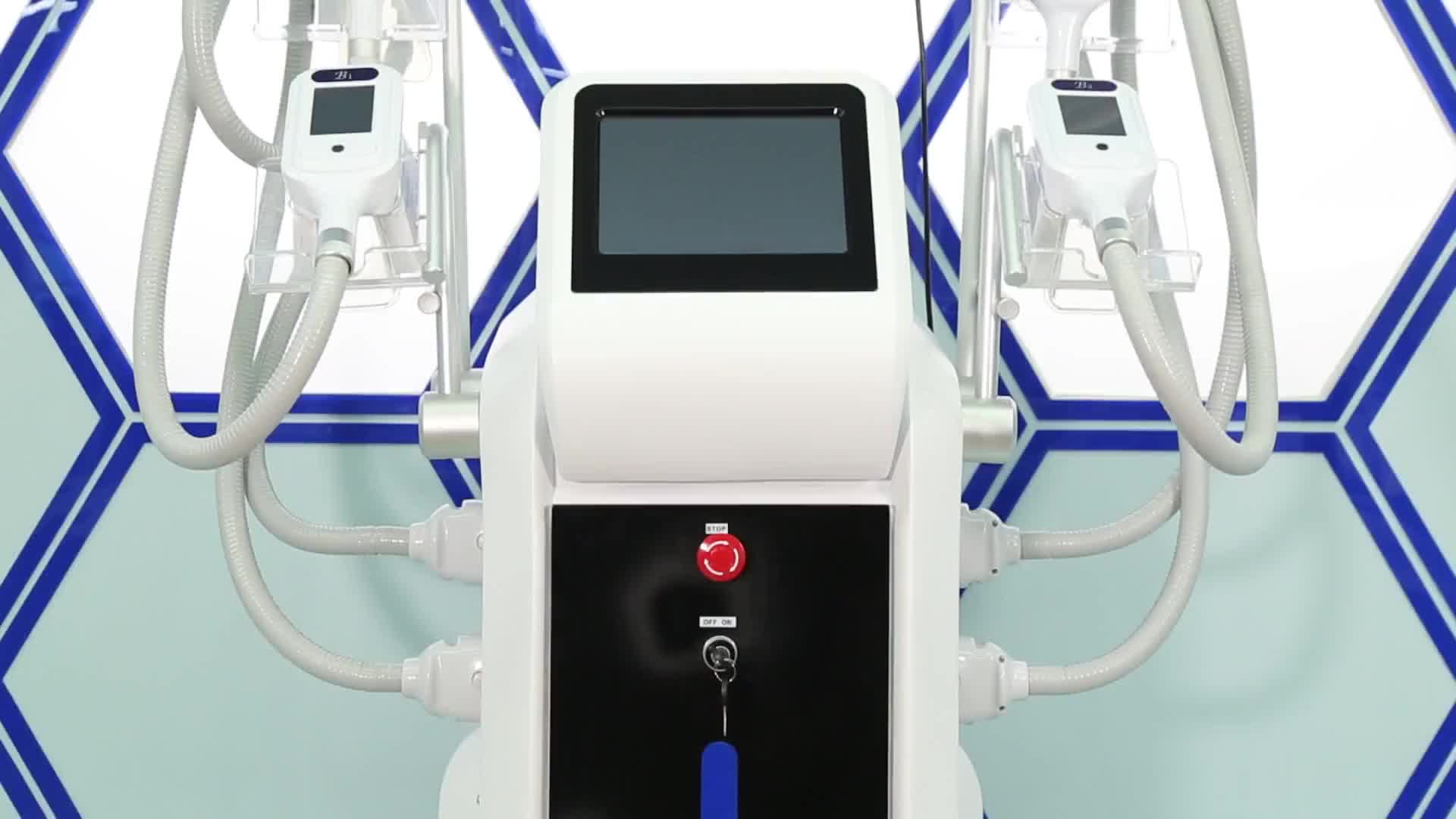 CE approved factory sale cool tech fat freezing slimming machine with lowest price