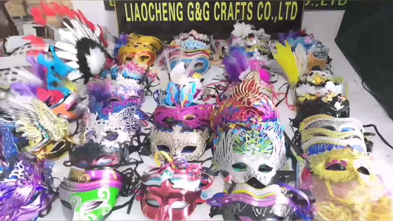 Hot Koop Mannen Plastic Half Gezicht Maskerade Partij Masker