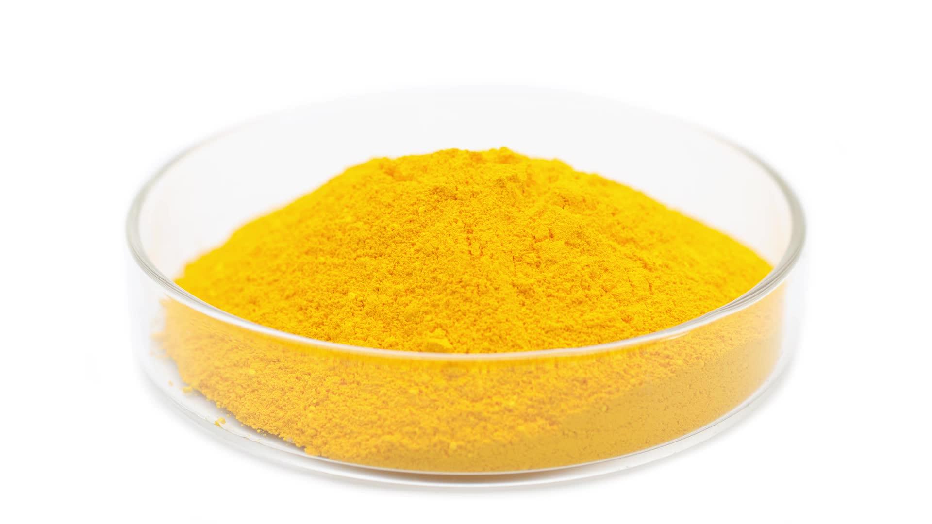 Geel 313 Kleur asfalt pigment fosforescerende pigment poeder