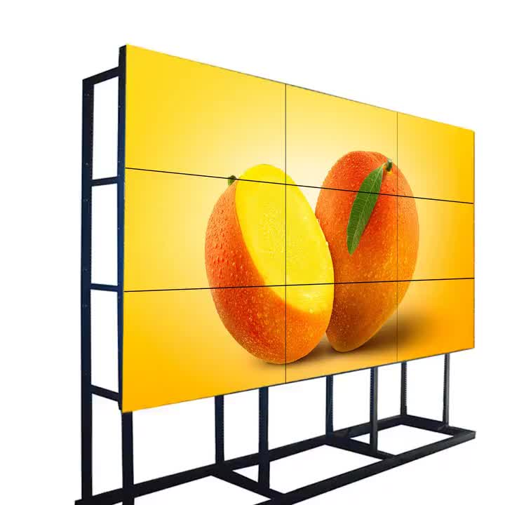 46 inch 3x3 4k high protect video wall with controller
