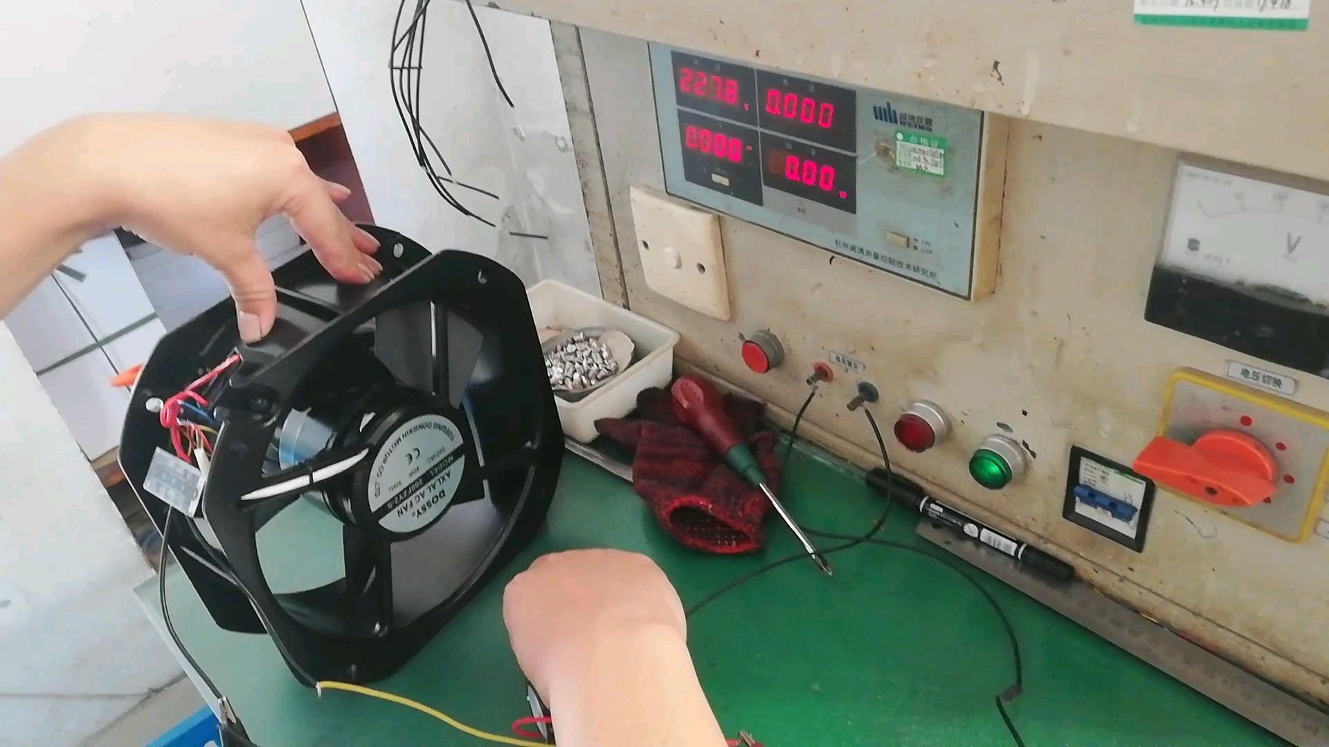 KTS Motor Speed Controller Voor Axiale Cooling Fan speed reguleren Richter verschillende